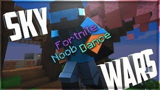 Hypixel Skywars but Every Kill Triggers the Noob Fortnite Dance | Juger