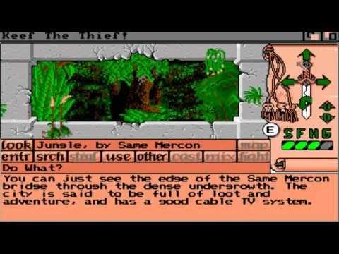 AMIGA Keef the Thief AMIGA OCS v1.0 Electronic Arts 1989 Cracked By VFDisk 1 of 2 adf zip