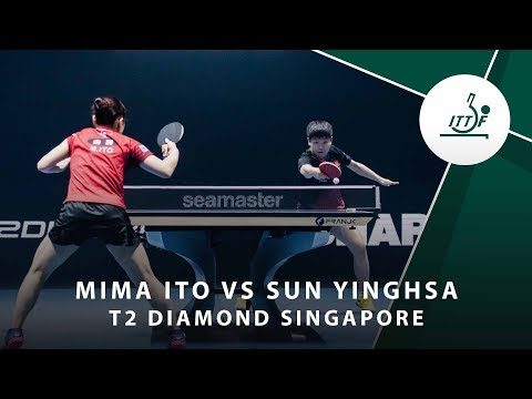 Mima Ito Vs Sun Yingsha | T2 Diamond Singaopore (Final)