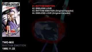 TWO-MIX 2nd Single 「RHYTHM EMOTION」 Catalogue Number: KIDA-121 Re...