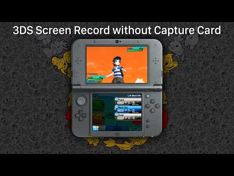 3DS Screen Recording without a Capture Card (NTR CFW Method