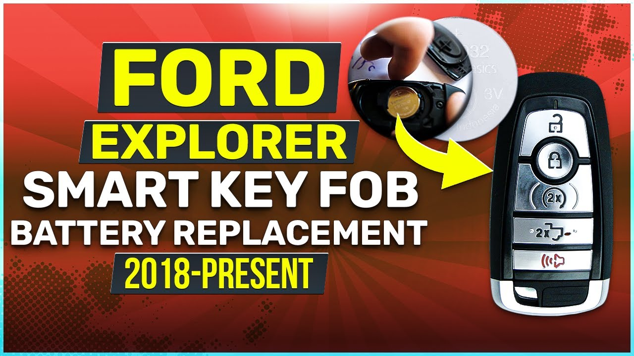 Ford Explorer Key Fob Battery Replacement  Easy How To Guide!
