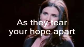 I Dreamed A Dream karaoke instrumental Glee Cast Version of Les Miserables   on screen lyrics