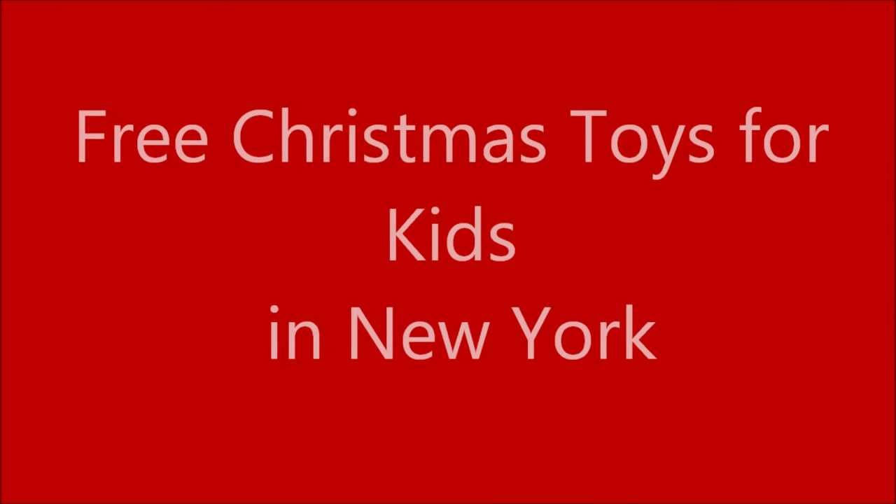 get free toys for christmas new york - Sign Up For Free Christmas Toys