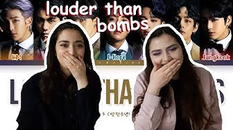 BTS (방탄소년단) - Louder than bombs English lyrics REACTION!!!