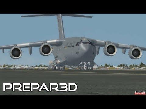 Prepar3D v3.4 C-17A Dubai Tour