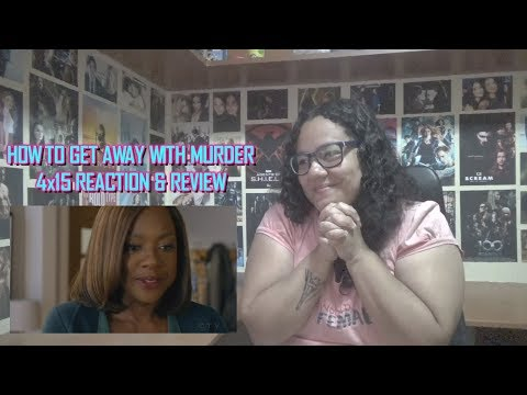 """How To Get Away With Murder 4x15 REACTION & REVIEW """"Nobody Else Is Dying"""" S04E15   JuliDG"""