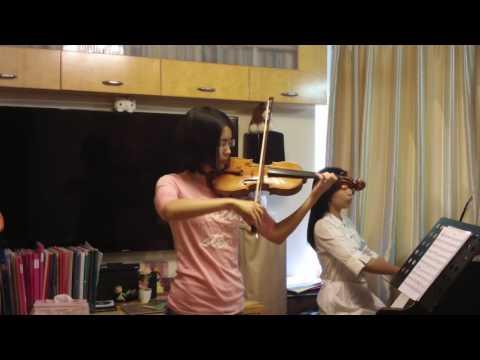 69th Music Festival N210 Violin Grade 1: Elgar Andantino by Doris Lee and Lai Bo Ling