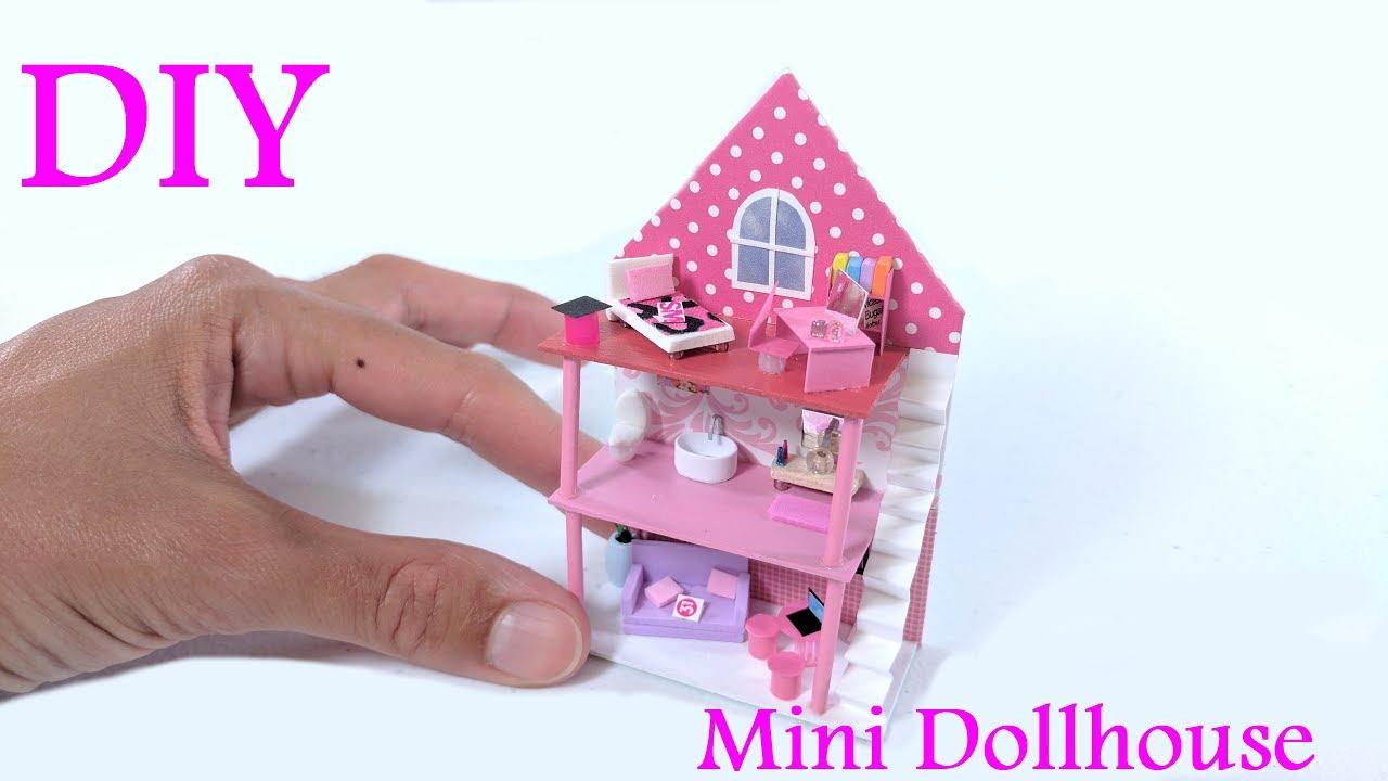 Diy Miniature Dollhouse Dollhouse For Dolls Youtube