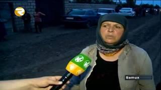 Samuxda dəhşətli qətl   Qardaş bacısını öldürdü Region TV   Region TV