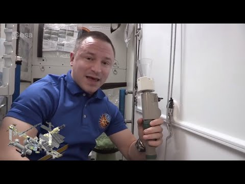 Space Station Bathroom - Where does the waste go?
