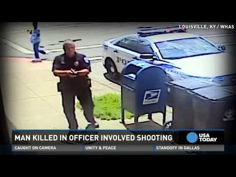 Man attacks cop