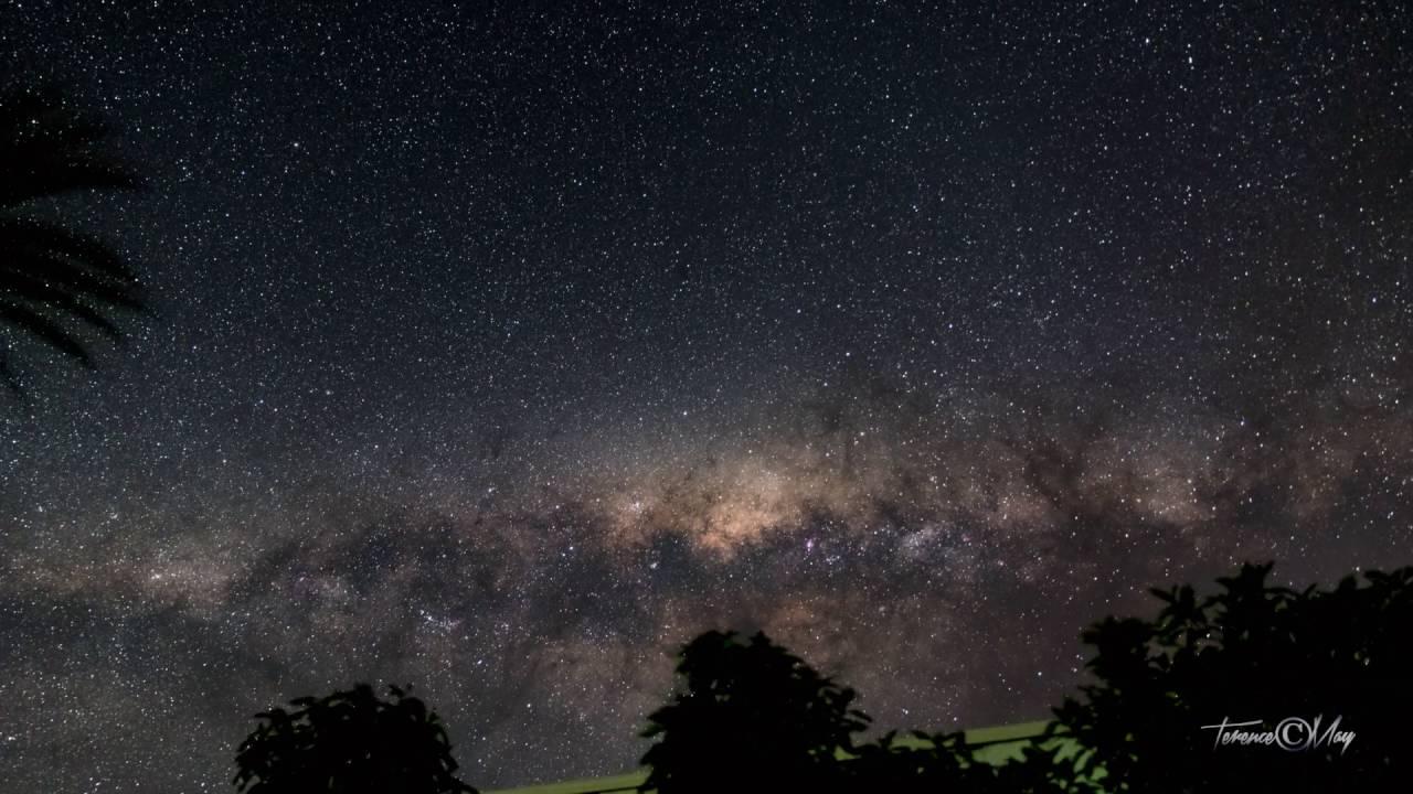 Time lapse Milky Way Nikon D750 Robe South Australia