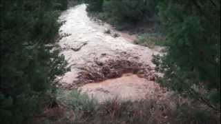 Palo Duro Canyon Flash Flooding August 14, 2012