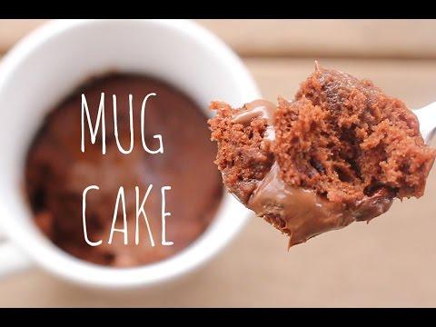 3-Minute Microwave Chocolate Mug Cake   sweetco0kiepie
