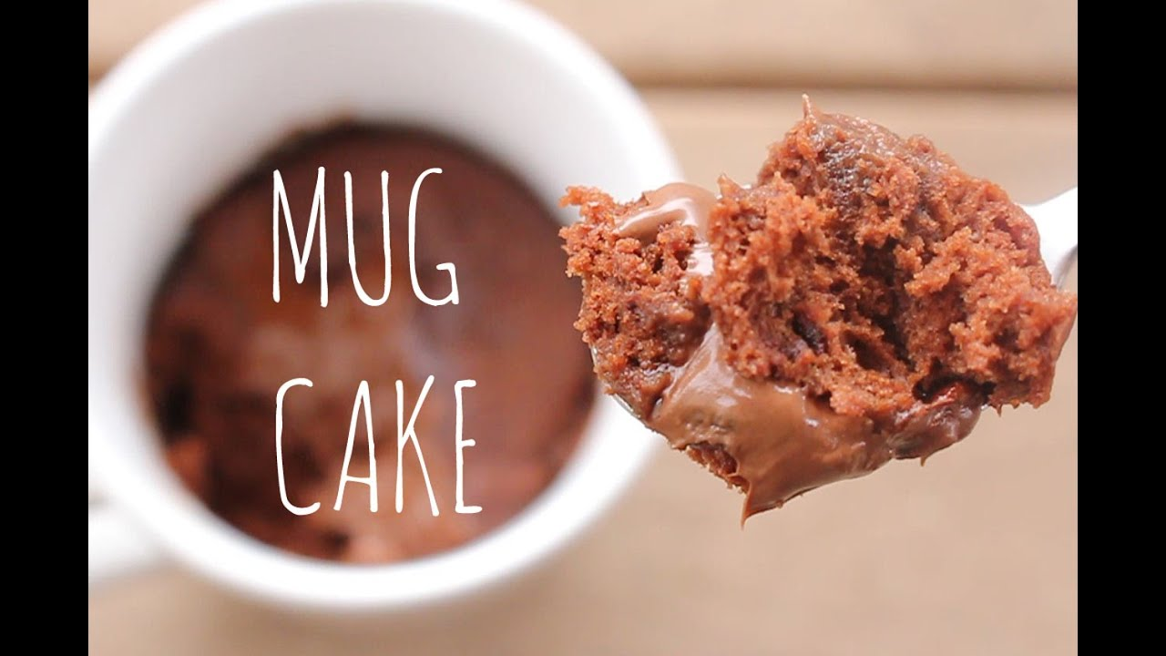 Minute Microwave Chocolate Mug Cake | sweetco0kiepie - YouTube