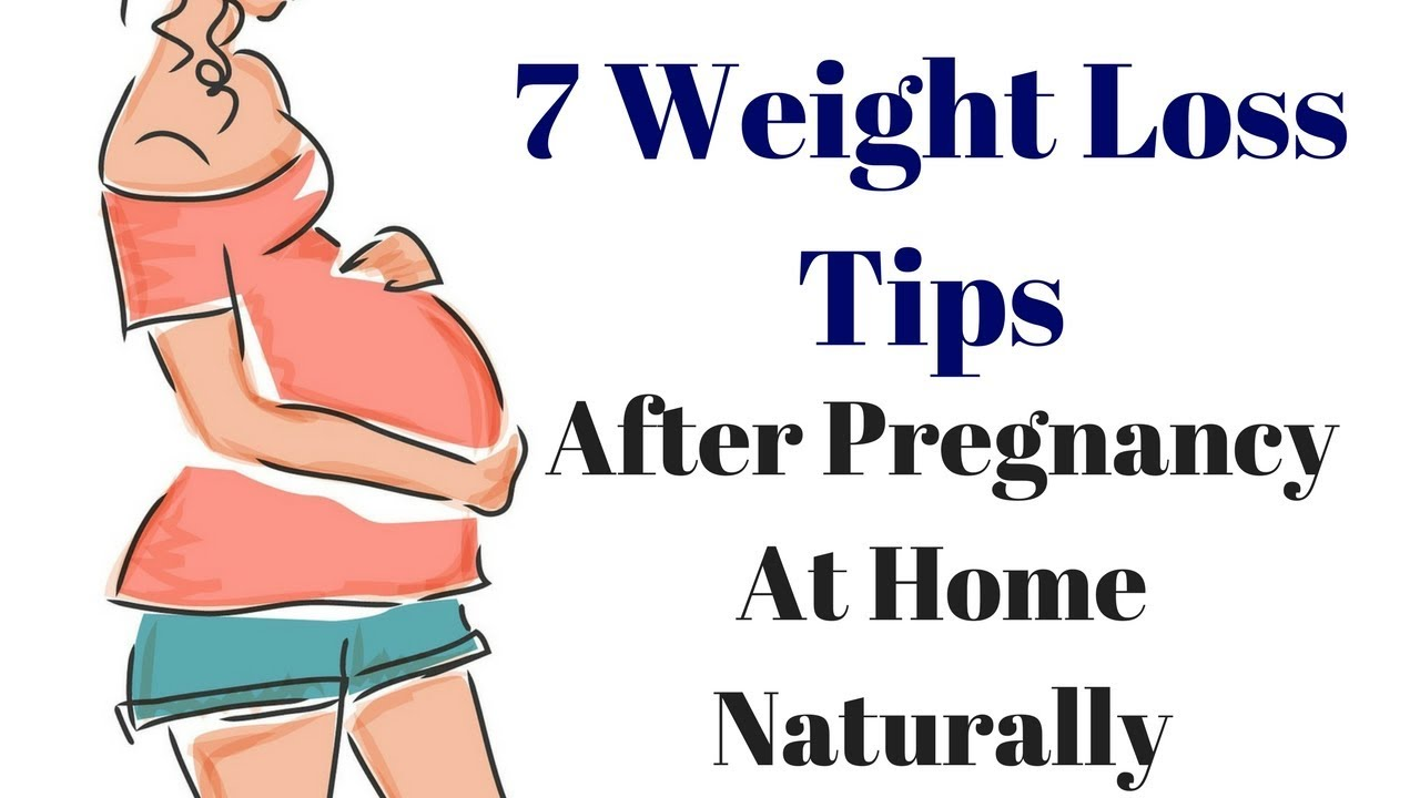 🔴5 Tips How To Lose Weight After Pregnancy At Home Naturally w/o Exercise