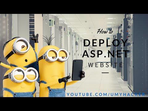 How to deploy asp.net website on hosting