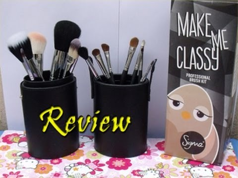Kit Make Me Classy da Sigma Beauty ♥ por MakeSemFirula - YouTube cd9f33d8ea