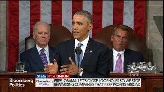 Obama: Stop Rewarding Firms That Keep Profits Abroad