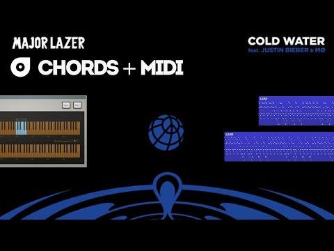 Major Lazer - Cold Water (feat. Justin Bieber & MØ) MIDI + Chord Trigger Preset