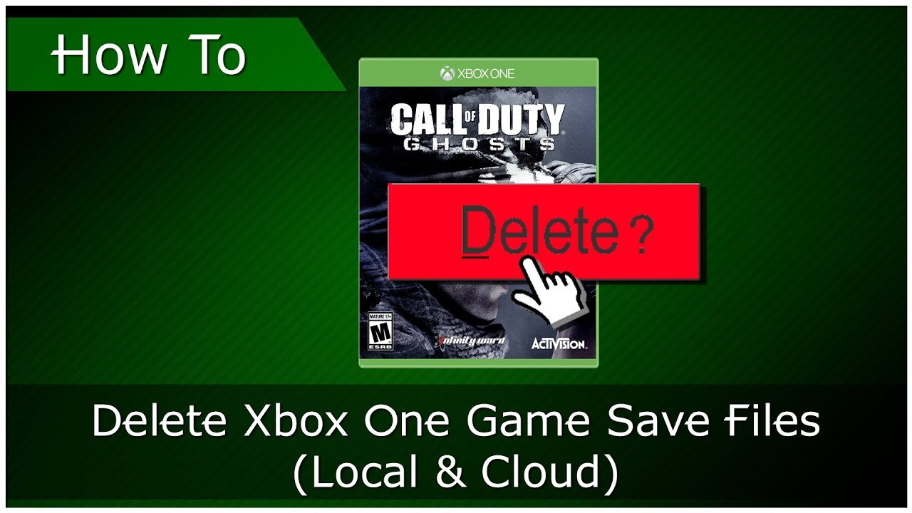 How To Delete Game Saves From Xbox One (OUTDATED)
