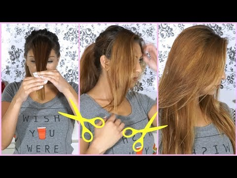 how-to-cut-your-hair-at-home!-side-swept-bangs-hair-cutting-tutorial