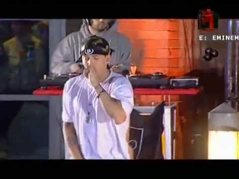 Eminem   Like Toy Soldiers en vivo en berlin 2004
