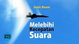 Beginilah Jadinya Jika Pesawat Tempur Terbang Melebihi Kecepatan Suara ! Super Sonic
