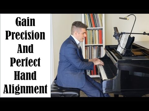 How To Gain Precision And Perfect Hand Alignment - Josh Wright Piano TV