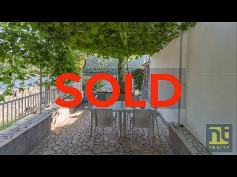SOLD Bigova Waterside Small Stone Cottage by the Water's Edg