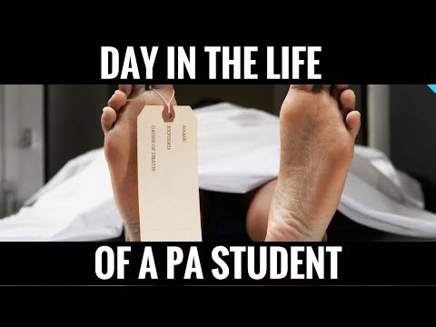 Day in the Life of a PA Student #1: Autopsy & Anatomy Exam!