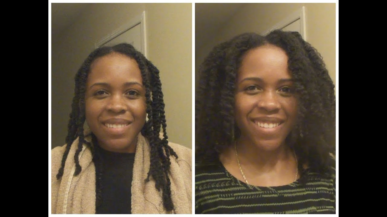 Stretching Natural Hair | Banding and Threading
