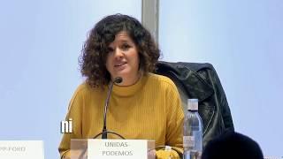 Minuto oro de Sofía Castañón en el debate de LNE