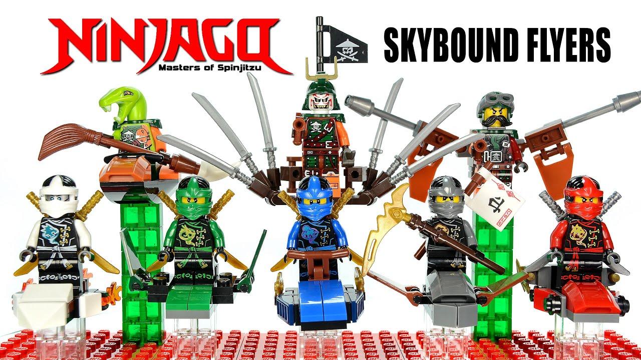 Ninjago airjitzu 2016 skybound flyers lego knockoff - Ninjago nouvelle saison ...