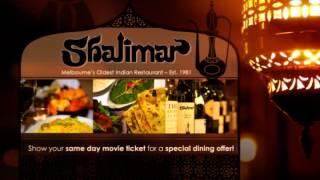 Shalimar Indian Restaurant, Brighton Melbourne Victoria 3186