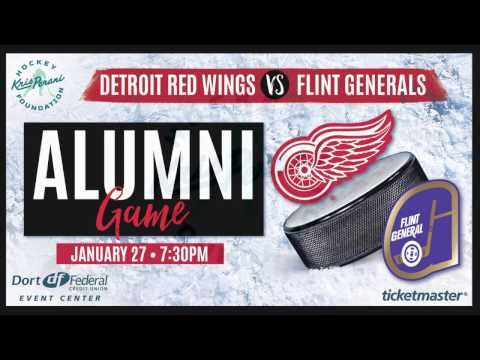 Detroit Red Wings and Flint Generals Alumni Game