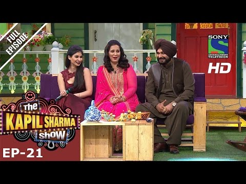The Kapil Sharma Show -    Ep-21-Navjot Kaur Sidhu 2nd July 2016