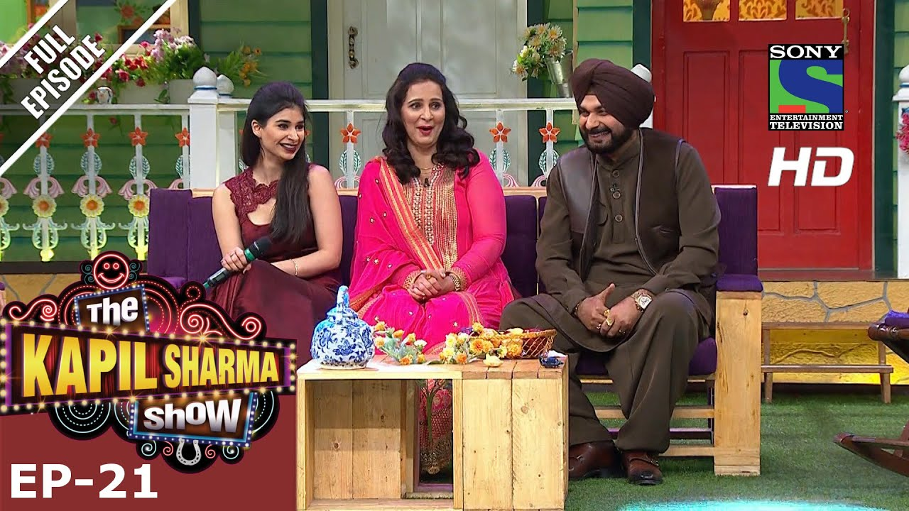 The Kapil Sharma Show - दी कपिल शर्मा शो–Ep-21-Navjot Kaur Sidhu –2nd July 2016 #1