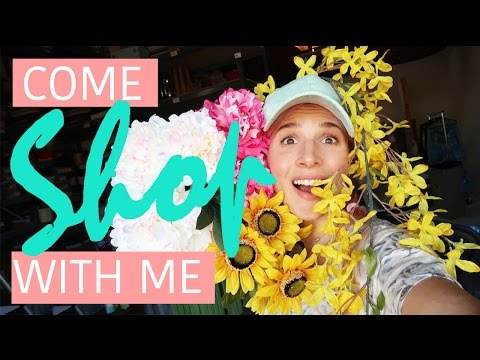 How To Decorate A Rainbow Room | Jessie Paege x Mr. Kate Shopping Vlog