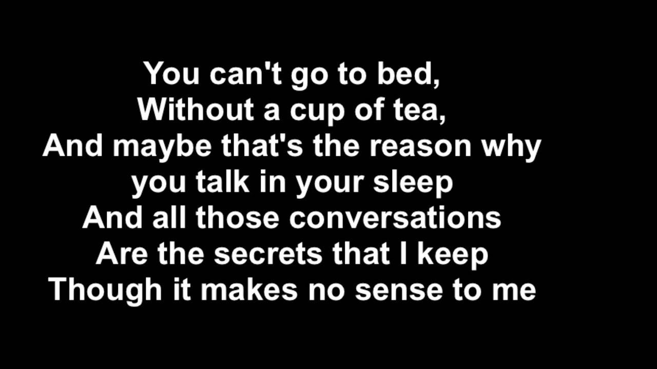 One Direction - Little Things (Lyrics) - YouTube