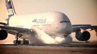 Airbus A380 Lucky Pilot Plane Skidding