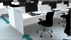 How to optimise/save space in office/workstation/workplace