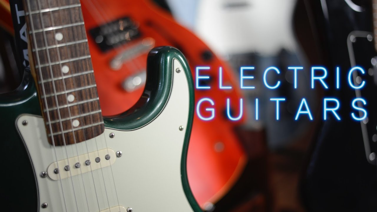 the electric guitars with loop control youtube for musicians