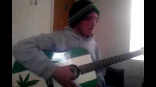 crossfade so cold acoustic halfass vocal cover