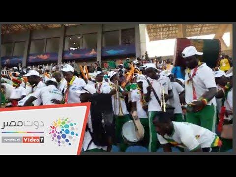 جماهير السنغال تتسلح بالطبول قبل لقاء تونس  - 18:53-2019 / 7 / 14