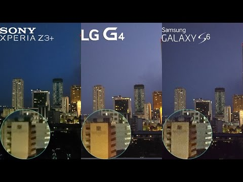 LG G4 vs Xperia Z3+ Z4 vs Galaxy S6 Camera  Comparison