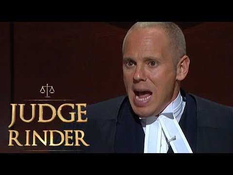 Judge Judy Is Not Available... But Judge Rinder Is! | Judge Rinder