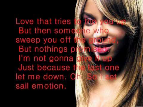 Ciara-I Found MySelf [Lyrics on Screen]
