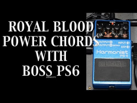 Royal Blood Sound - Making Power Chords With Boss PS6